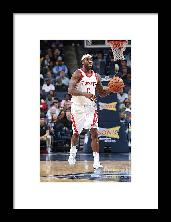 Nba Pro Basketball Framed Print featuring the photograph Bobby Brown by Joe Murphy