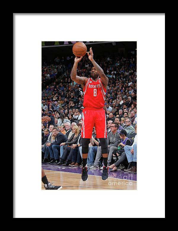 Nba Pro Basketball Framed Print featuring the photograph Bobby Brown by Rocky Widner