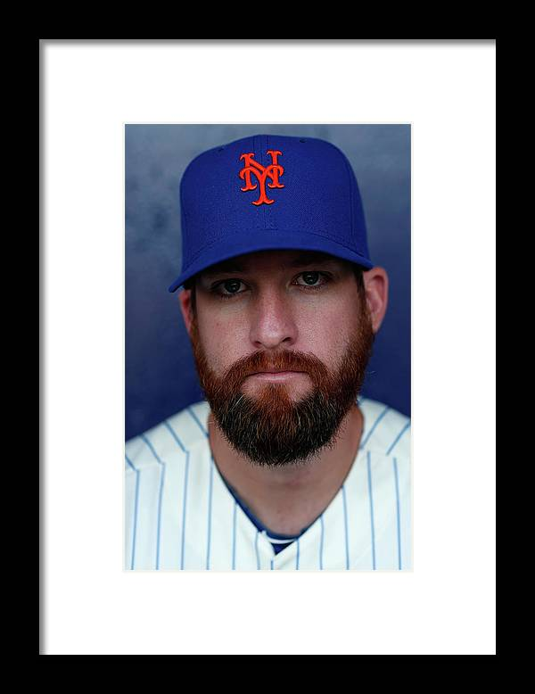 Media Day Framed Print featuring the photograph Bobby Parnell by Chris Trotman