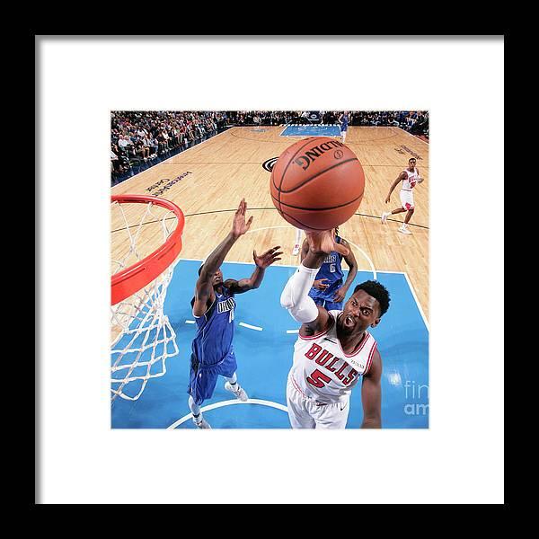 Nba Pro Basketball Framed Print featuring the photograph Bobby Portis by Glenn James