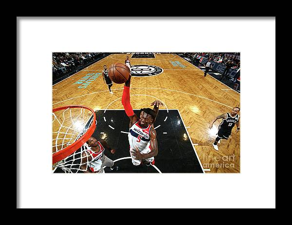 Nba Pro Basketball Framed Print featuring the photograph Bobby Portis by Nathaniel S. Butler