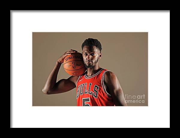 Media Day Framed Print featuring the photograph Bobby Portis by Randy Belice