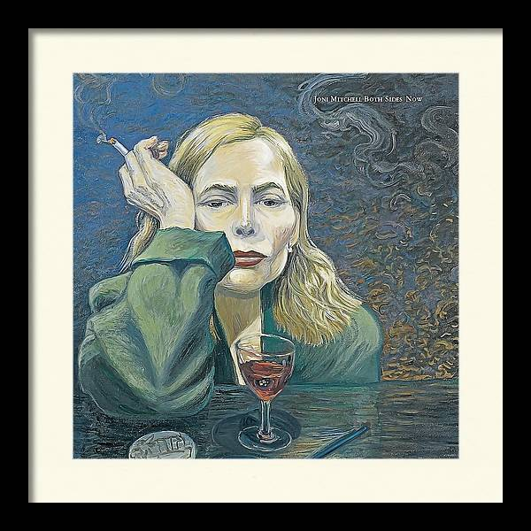 Both Sides Now Joni Mitchell Realistic Oil Painting by Realistic Paintings