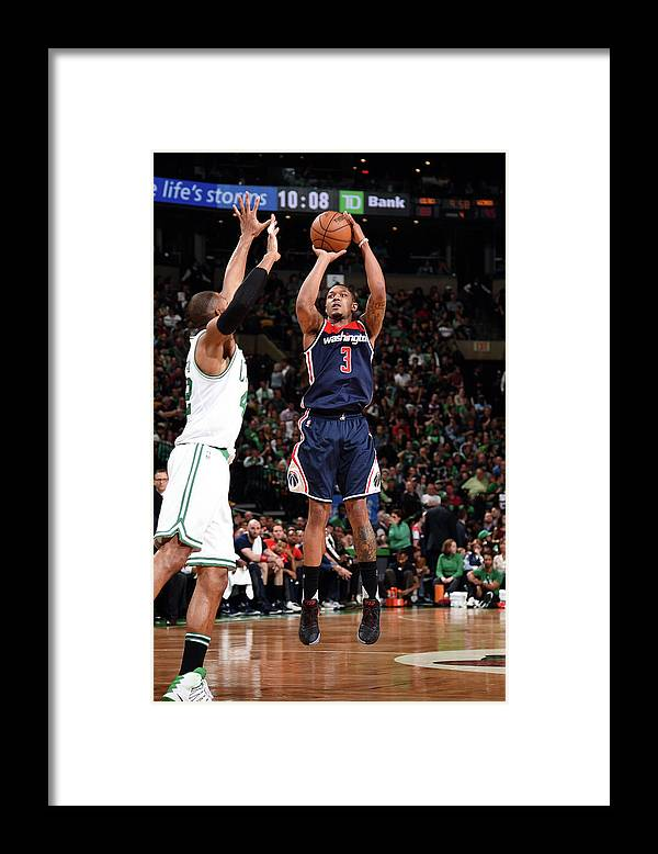 Playoffs Framed Print featuring the photograph Bradley Beal by Brian Babineau
