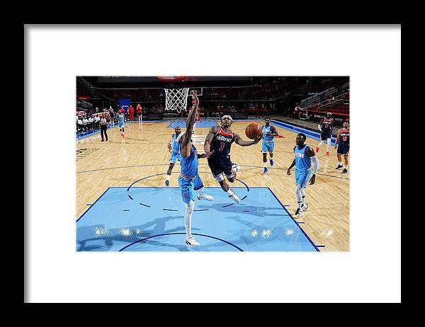 Nba Pro Basketball Framed Print featuring the photograph Bradley Beal by Cato Cataldo