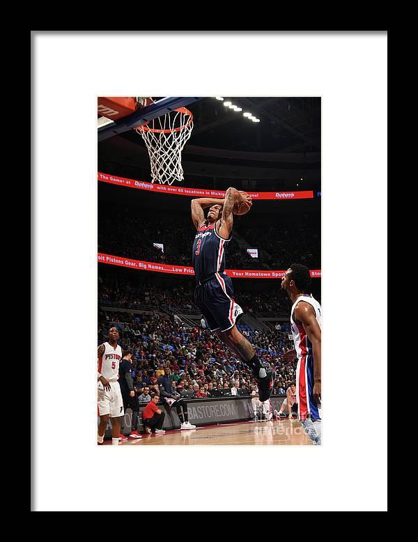 Nba Pro Basketball Framed Print featuring the photograph Bradley Beal by Chris Schwegler