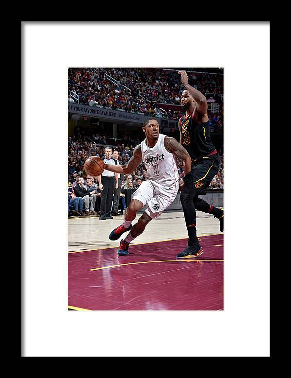 Nba Pro Basketball Framed Print featuring the photograph Bradley Beal by David Liam Kyle