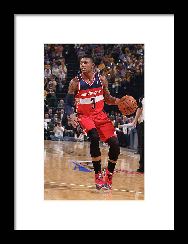Sport Framed Print featuring the photograph Bradley Beal by Gary Dineen