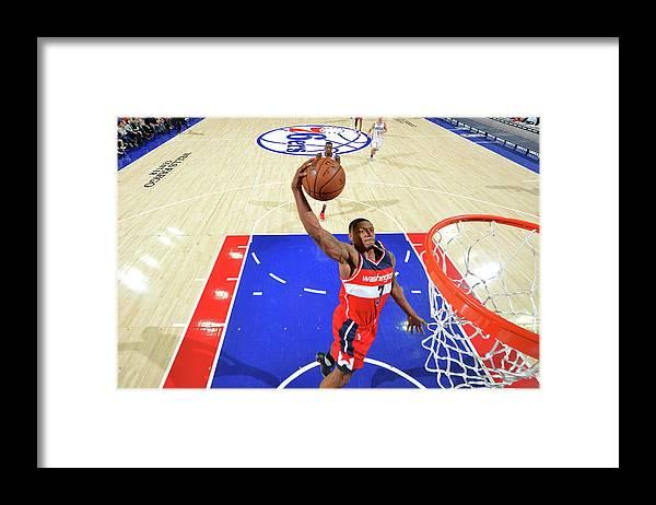 Nba Pro Basketball Framed Print featuring the photograph Bradley Beal by Jesse D. Garrabrant