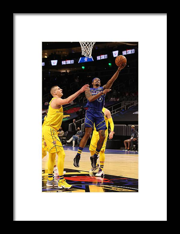 Atlanta Framed Print featuring the photograph Bradley Beal by Joe Murphy