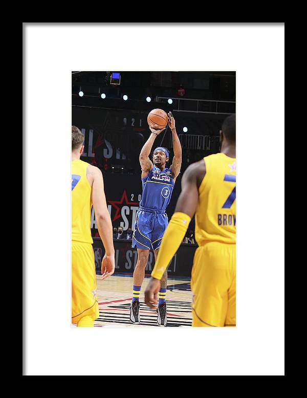 Atlanta Framed Print featuring the photograph Bradley Beal by Nathaniel S. Butler
