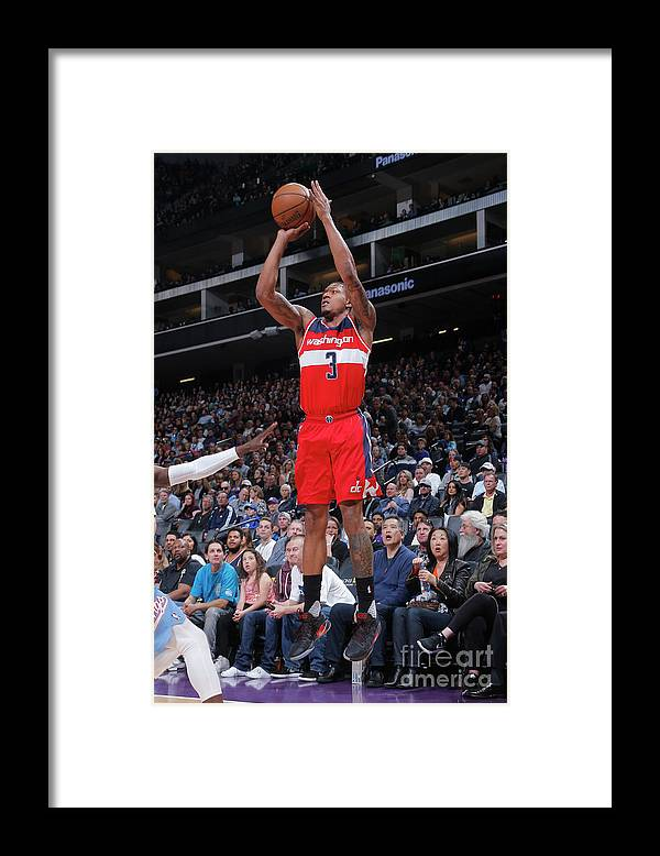 Nba Pro Basketball Framed Print featuring the photograph Bradley Beal by Rocky Widner