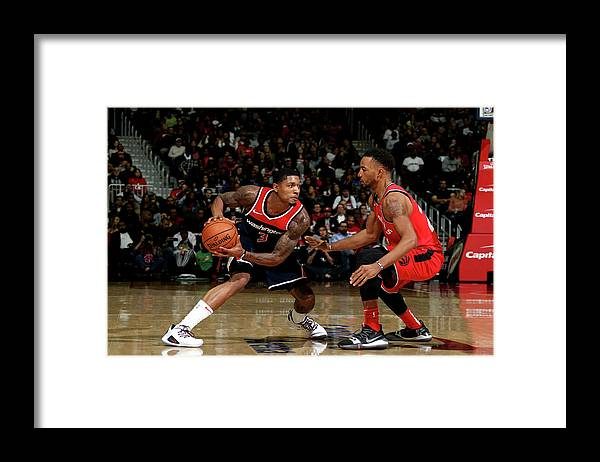 Nba Pro Basketball Framed Print featuring the photograph Bradley Beal by Stephen Gosling