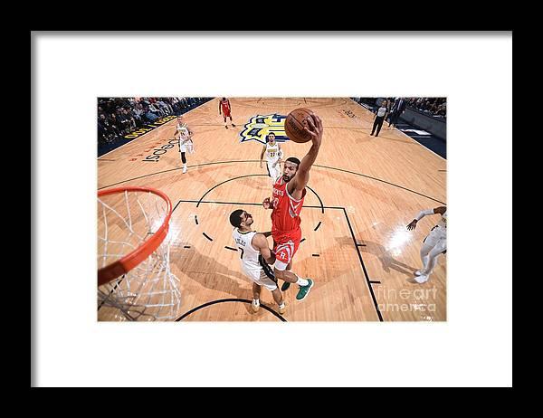 Nba Pro Basketball Framed Print featuring the photograph Brandan Wright by Garrett Ellwood