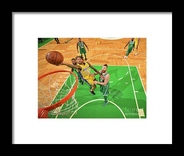 Nba Pro Basketball Framed Print featuring the photograph Brandon Ingram by Jesse D. Garrabrant