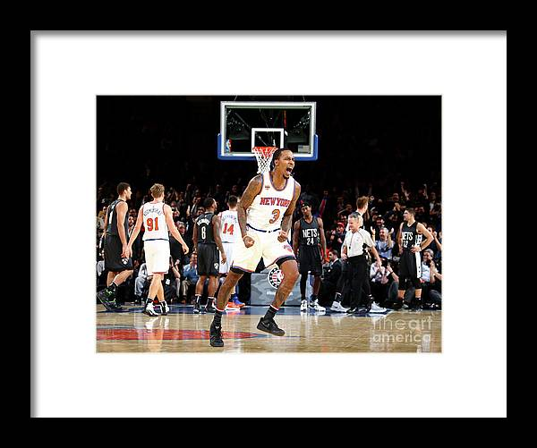 Nba Pro Basketball Framed Print featuring the photograph Brandon Jennings by Nathaniel S. Butler