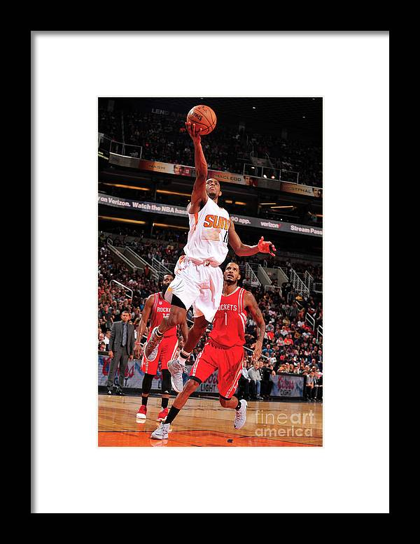 Nba Pro Basketball Framed Print featuring the photograph Brandon Knight by Barry Gossage