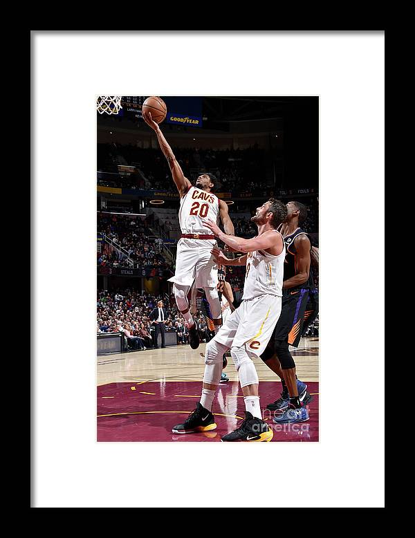 Nba Pro Basketball Framed Print featuring the photograph Brandon Knight by David Liam Kyle