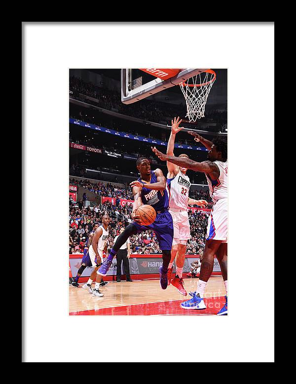 Nba Pro Basketball Framed Print featuring the photograph Brandon Knight by Juan Ocampo