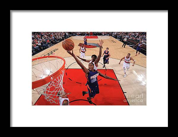 Nba Pro Basketball Framed Print featuring the photograph Brandon Knight by Sam Forencich