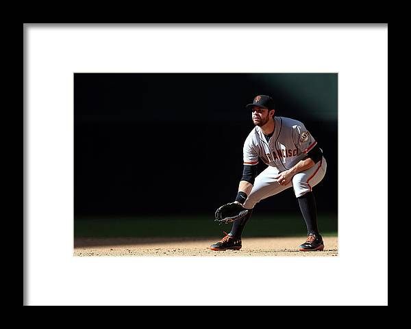 Motion Framed Print featuring the photograph Brandon League by Christian Petersen