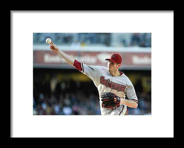 California Framed Print featuring the photograph Brandon Mccarthy by Denis Poroy