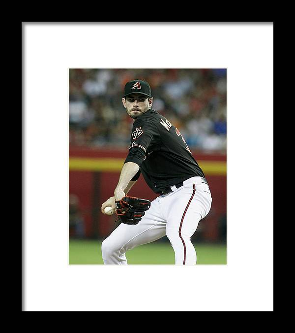 Coin Framed Print featuring the photograph Brandon Mccarthy by Ralph Freso