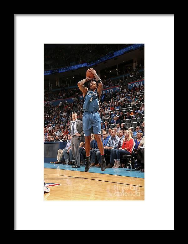 Nba Pro Basketball Framed Print featuring the photograph Brandon Rush by Layne Murdoch