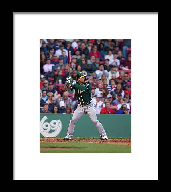 People Framed Print featuring the photograph Brett Lawrie by Rich Gagnon