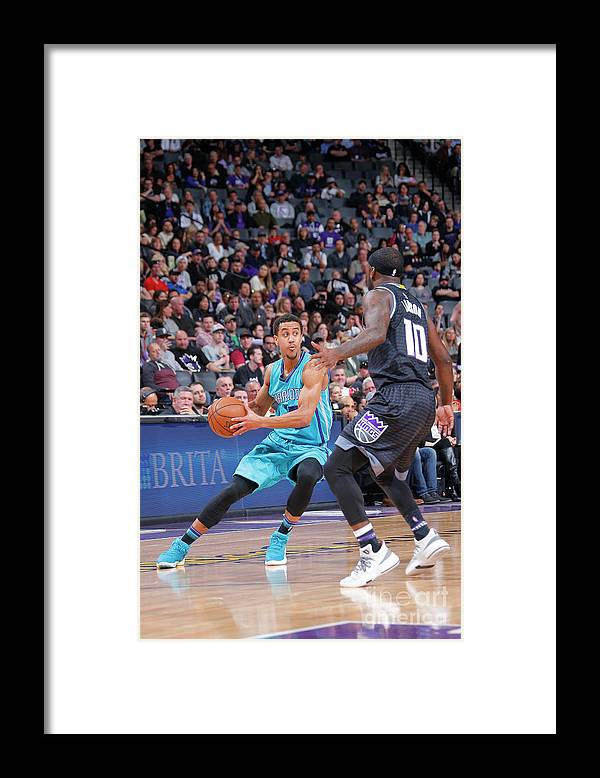 Nba Pro Basketball Framed Print featuring the photograph Brian Roberts by Rocky Widner