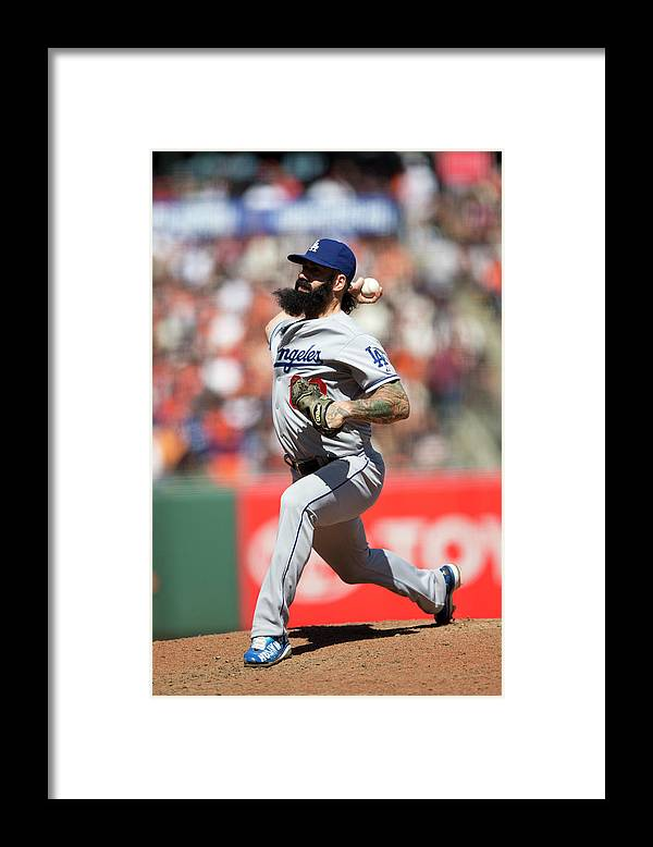 San Francisco Framed Print featuring the photograph Brian Wilson by Jason O. Watson