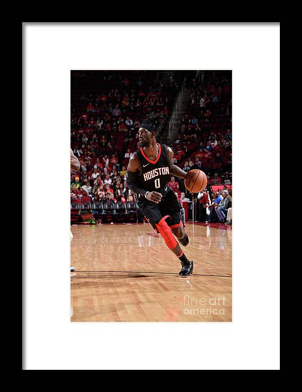 Nba Pro Basketball Framed Print featuring the photograph Briante Weber by Bill Baptist