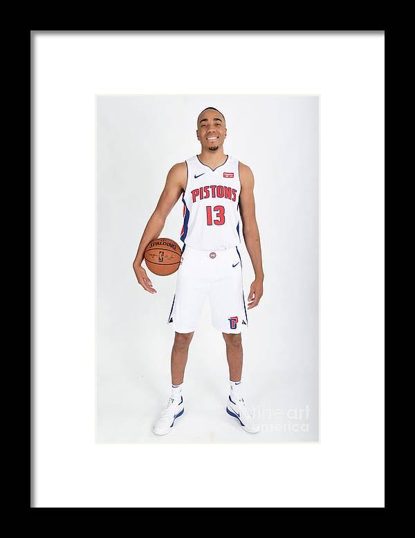 Nba Pro Basketball Framed Print featuring the photograph Brice Johnson by Chris Schwegler