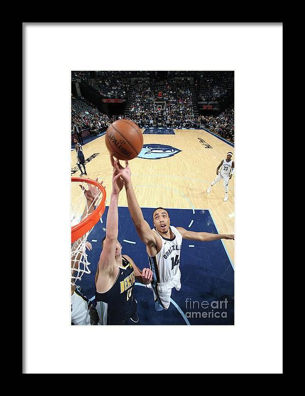 Nba Pro Basketball Framed Print featuring the photograph Brice Johnson by Joe Murphy