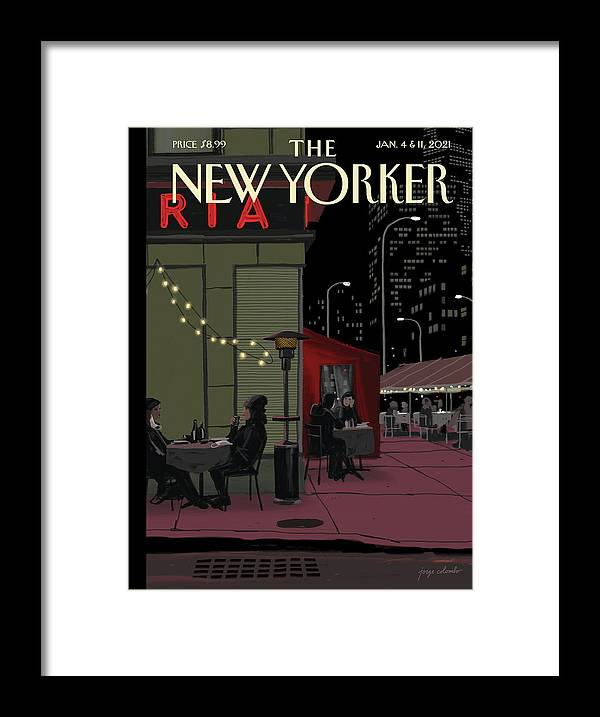 Nyc Framed Print featuring the digital art Bright Lights by Jorge Colombo