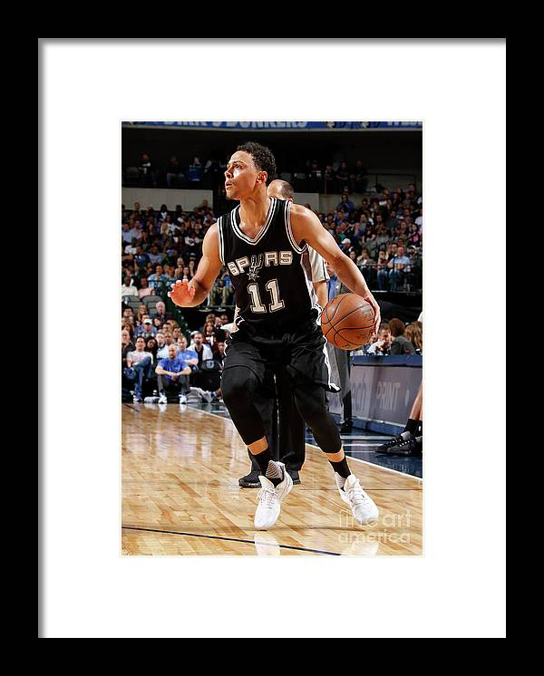 Nba Pro Basketball Framed Print featuring the photograph Bryn Forbes by Danny Bollinger