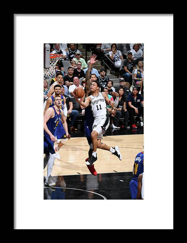 Playoffs Framed Print featuring the photograph Bryn Forbes by Garrett Ellwood