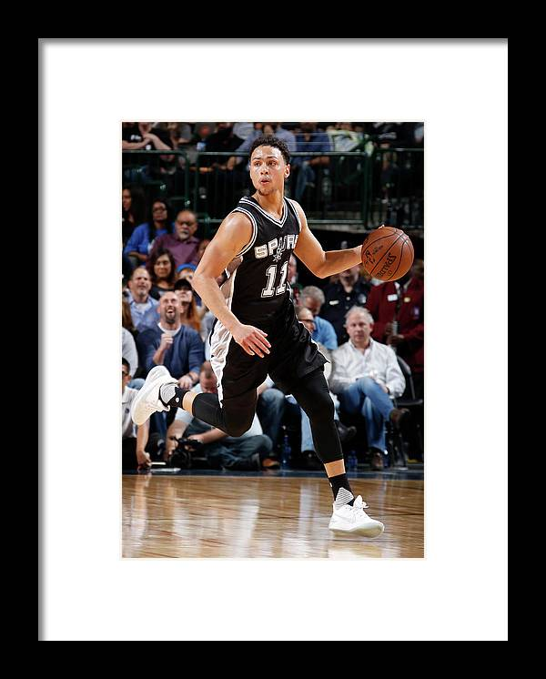 Nba Pro Basketball Framed Print featuring the photograph Bryn Forbes by Glenn James