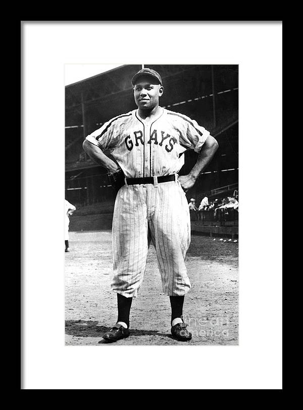 African Ethnicity Framed Print featuring the photograph Buck Leonard by National Baseball Hall Of Fame Library