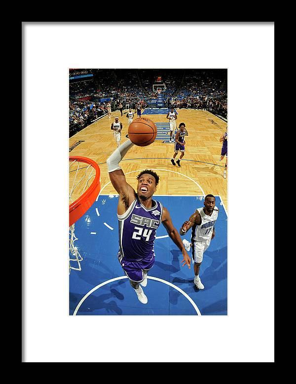 Nba Pro Basketball Framed Print featuring the photograph Buddy Hield by Fernando Medina