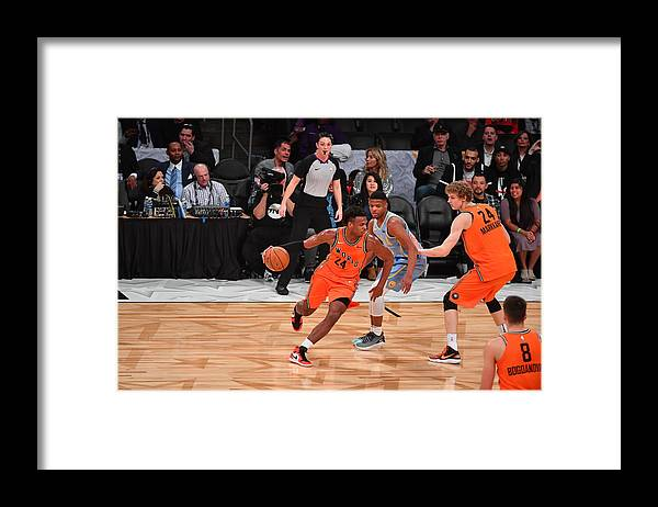 Event Framed Print featuring the photograph Buddy Hield by Jesse D. Garrabrant