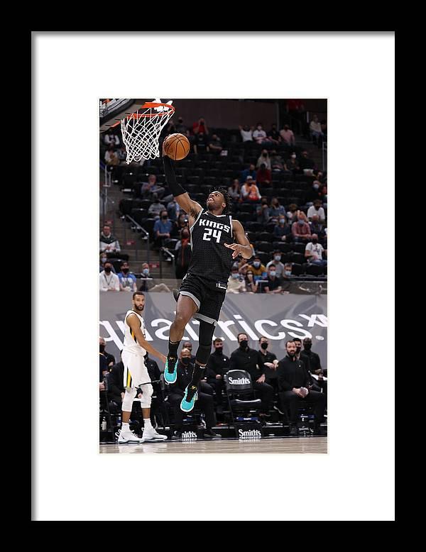 Nba Pro Basketball Framed Print featuring the photograph Buddy Hield by Melissa Majchrzak