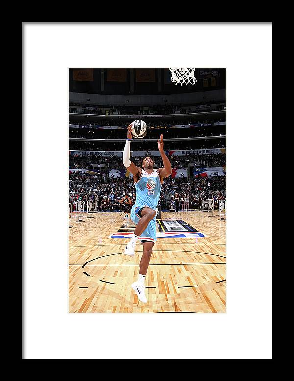 Event Framed Print featuring the photograph Buddy Hield by Nathaniel S. Butler