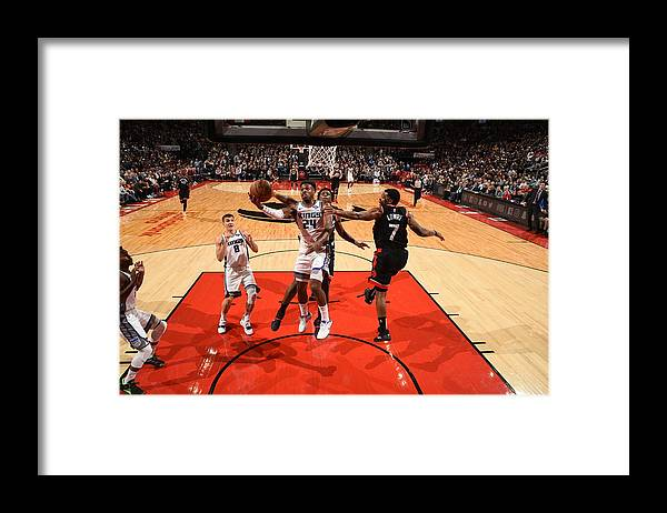 Nba Pro Basketball Framed Print featuring the photograph Buddy Hield by Ron Turenne