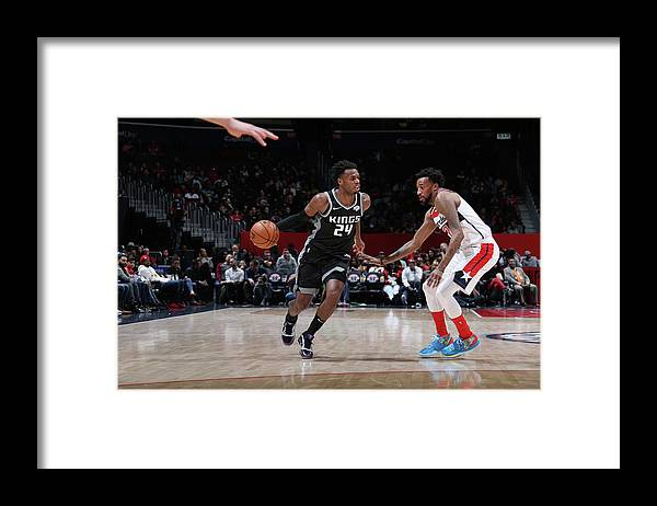 Nba Pro Basketball Framed Print featuring the photograph Buddy Hield by Stephen Gosling