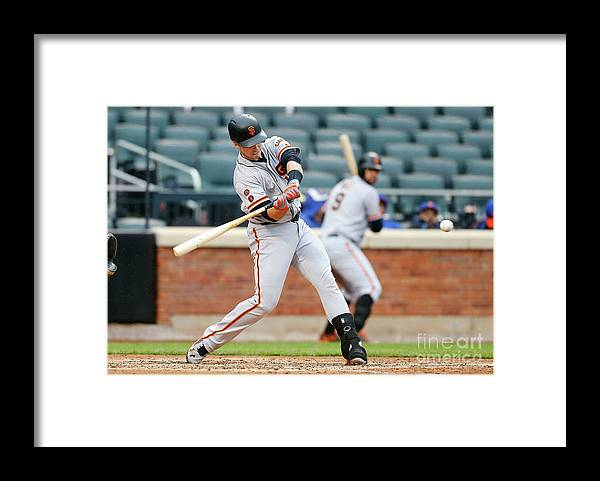 People Framed Print featuring the photograph Buster Posey by Jim Mcisaac