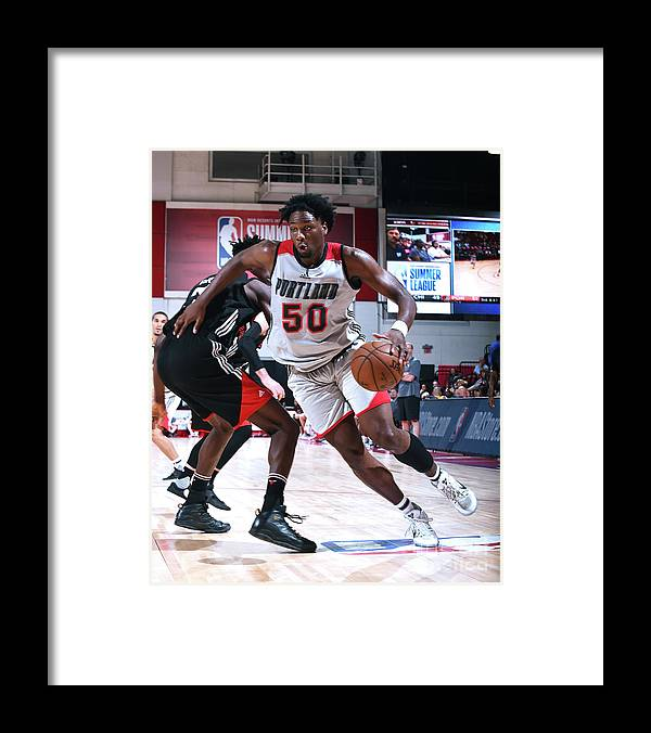 Nba Pro Basketball Framed Print featuring the photograph Caleb Swanigan by Noah Graham