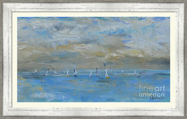 Calm Sailing on Sunday by Patricia Caldwell