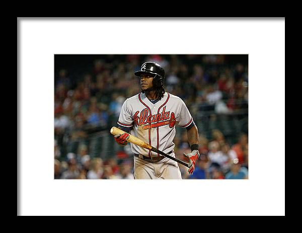 Three Quarter Length Framed Print featuring the photograph Cameron Maybin by Christian Petersen