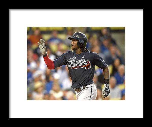 Three Quarter Length Framed Print featuring the photograph Cameron Maybin by Harry How